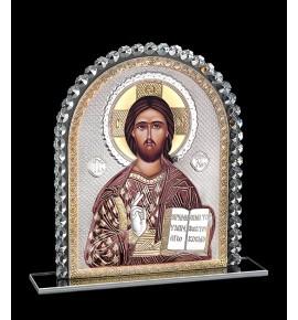 ΕΙΚΟΝΑ ΑΣΗΜΙ ΚΑΙ ΚΡΥΣΤΑΛΛΟ - ΧΡΙΣΤΟΣ ΘΕΟΥ ΣΟΦΙΑ