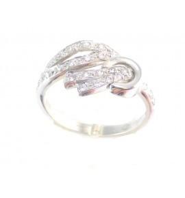 Δαχτυλίδι Λευκόχρυσο 14 K