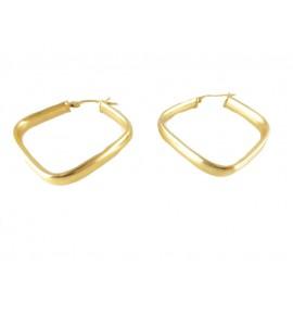 Γυναικείοι Κρίκοι Χρυσό 14 K