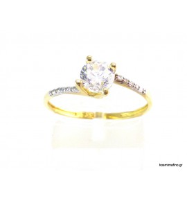 Δαχτυλίδι Χρυσό 14 K