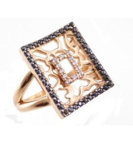 Γυναικεία Δαχτυλίδι Ρόζ Χρυσό 9 K