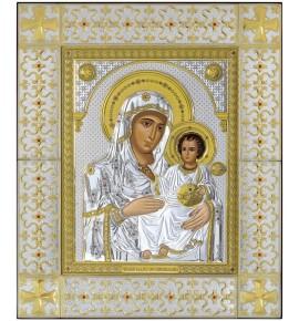ΜΕΓΑΛΗ ΕΙΚΟΝΑ ΑΣΗΜΕΝΙΑ - ΠΑΝΑΓΙΑ ΙΕΡΟΣΟΛΥΜΙΤΙΣΣΑ 49 x 59