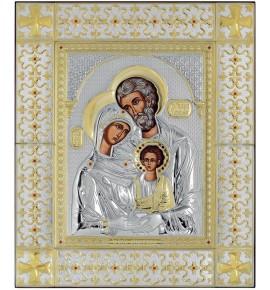 ΜΕΓΑΛΗ ΕΙΚΟΝΑ ΑΣΗΜΕΝΙΑ - ΑΓΙΑ ΟΙΚΟΓΕΝΕΙΑ 49 x 59