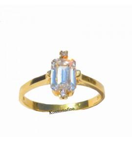 Δαχτυλίδι χρυσο 14 K